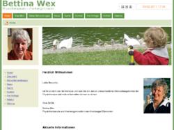 Bettina Wex - Physiotherapeutin und Krankengymnastin in den Elbvororten