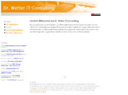 Dr. Wetter IT-Consulting