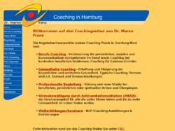 Dr. Maren Franz, Coach & Heilpraktikerin Psychotheapie