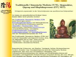 Traditionelle Chinesische Medizin Akupunktur in Hamburg Rahlstedt