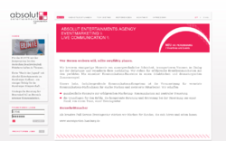 Absolut Entertainments GmbH Eventmarketing