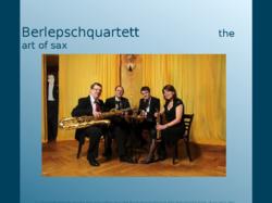 Berlepsch-Saxophonquartett