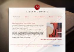 Literaturmusik
