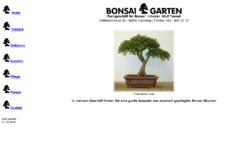 Bonsaigarten Fachgeschäft für Bonsai in Hamburg