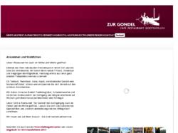 Hamburgs Verleih für venezianischen Gondeln