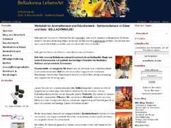 Belladonna.de Esoterik Magie Schamanismus Aromatherapie