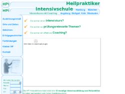Heilpraktiker-Intensivschule