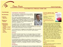 Psychologische Praxis Thomas Prünte Diplom Psychologe Hamburg Ottensen Anti-Stress-Vertrag