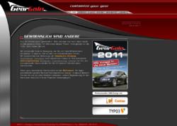 Geargain: Werbung, Internet & Motorsport-Design