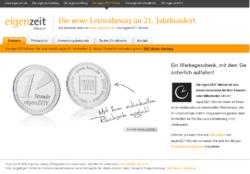 Die eigenZEIT-Münze