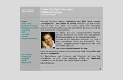Katrin Schwieger, Dipl. Psychologin, Praxis für Psychotherapie Hamburg Eimsbüttel