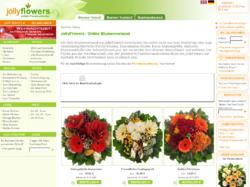 JollyFlowers - Blumenversand Hamburg und weltweit
