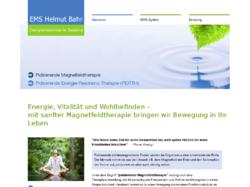 EMS Helmut Bahr, Energie - Medizinische Systeme