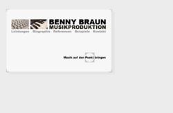 Benny Braun Musikproduktion