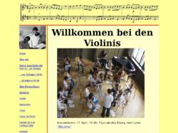 Geigenunterricht, Cellounterricht