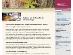 Sabento - Die Software für die Biotechnologie