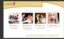 Mobile Bar für Ihre Feier zuhause