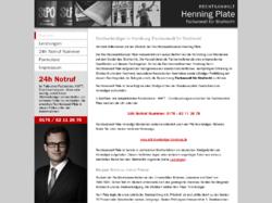 Anwaltskanzlei Plate, Strafverteidiger, Fachanwalt für Strafrecht
