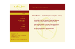 Autogenes Training Physiotherapie Psychotherapie Krankengymnastik