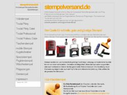 stempelversand.de: Stempel online bestellen