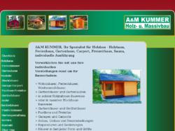 A&M Kummer GmbH - Holzhaus-Bau und Baubedarf