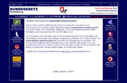 Informationen für Hundehalter über die Haltung und Führung von Hunden in Hamburg