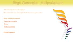 Birgit Warnecke - Heilpraktikerin
