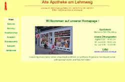 Alte Apotheke am Lehmweg