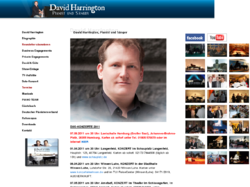 David Harrington, Pianist und Sänger