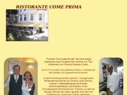 Italienisches Restaurante Come Prima - Hamburg Eppendorf