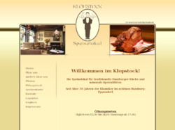 Speiselokal Klopstock