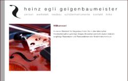 Heinz Egli Geigenbaumeister