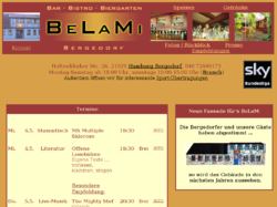 BeLaMi - Bar, Bistro, Biergarten in Hamburg Bergedorf