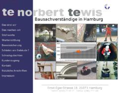 Norbert Tewis Bausachverständige in Hamburg