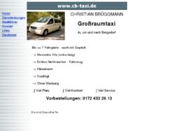 Christian Brüggmann Taxiunternehmer