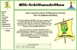 BIG-Schiffsmodellbau