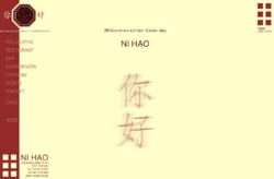 Ni Hao chinesische Haute Cuisine