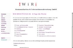 Wir Kommunikation und Unternehmensberatung GmbH