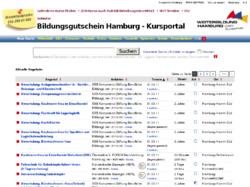 Kursportal Bildungsgutschein Hamburg