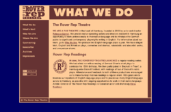 The Rover Rep Theatre