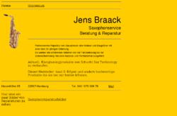 Jens Braack Saxophonservice