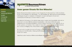 Marwitz Baumaschinen
