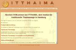 ITTHAIMA Institut für Traditionelle Thaimassage