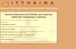 ITTHAIMA Institut für Traditionelle Thaimassage