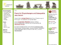 ENTSPANNT GESUND - Praxis für Physiotherapie und Osteopathie, Jean Aurich