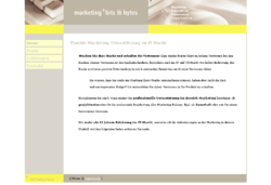 Marketing 4 bits&bytes