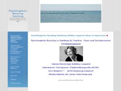 Psychologische Beratung, Stressmanagement und Entspannungsverfahren
