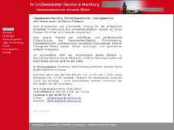 Hausmeisterservice Armando Blohm - Ihr professioneller Service in Hamburg