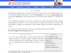 Consumer Fieldwork, Panel Sampling & Internet Surveys