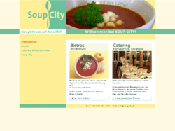 Soupcity Bistros, Catering, Partylocations